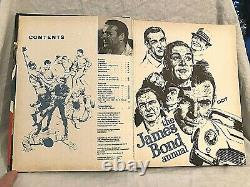 James Bond 007 Annual 1968 Sean Connery, Live and Let Die Nice Copy, Scarce