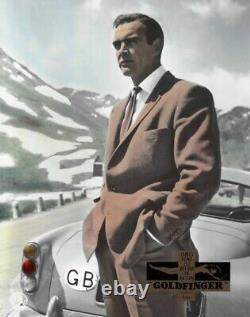 James Bond 007 Goldfinger Sean Connery Aushangfoto Sonderanfertigung Rar