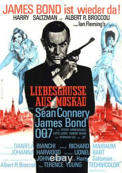 James Bond 007 Liebesgrüsse aus Moskau ORIGINAL A1 Kinoplakat Sean Connery