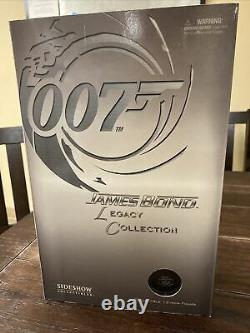 James Bond 007 Sean Connery Legacy Collection 1/6 Scale Sideshow Figure New