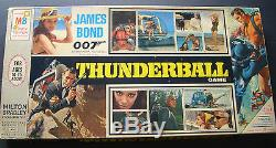 James Bond 007, Sean Connery (thunderball) Rare Orig, Game