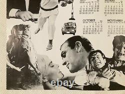 James Bond 007 The Age of Bond for 1980 Calendar Poster Roger Moore Sean Connery