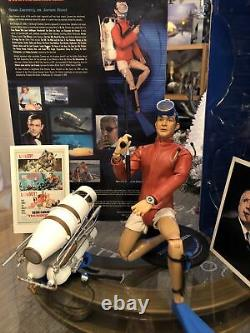 James Bond 007 Thunderball Sean Connery Diver 16 MI6 Agent Sideshow Hot Toy