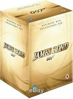 James Bond 007 Ultimate Collection Set Sean Connery, Roger New UK Region 2 DVD