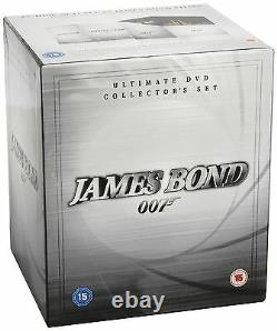 James Bond 007 Ultimate Collector's Set 1962 Sean Connery Brand New Region 2 DVD