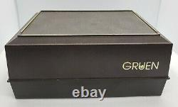 James Bond 007 Vintage Gruen Precision Cal 510 Sean Connery Pristine Dial IN BOX