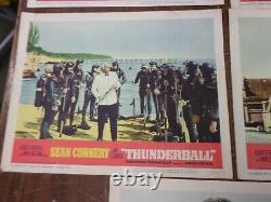 James Bond 007-thunderball, Movie Lobby Cards, Original, Sean Connery, 1965