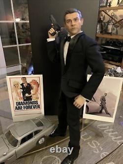 James Bond 16 Sean Connery Goldfinger Hot Toy Black Box
