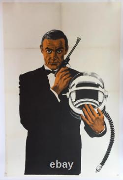James Bond Agent 007 Vintage Poster Sean Connery,'You Only Live Twice