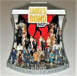 James Bond CORGI ICON White metal Hand Painted 3 1/24 12 figurines figure