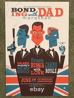 James Bond Casino Royale Sean Connery Movie Print Poster Mondo 007 Dave Perillo