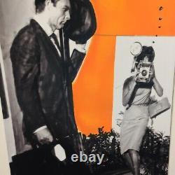 James Bond Dr. No Pop Art Acryl Collage Kunst Bild Sean Connery St. Bam 007