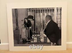 James Bond Goldfinger Print Oddjob. 007. Sean Connery picture. Mounted