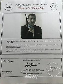 James Bond Sean Connery 007 SIGNED PHOTO Autograph COA Dr. No