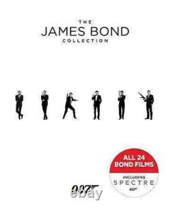 James Bond (Sean Connery) Complete 24 Movie 007 Collection NEW BLU-RAY BOX SET
