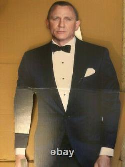 James Bond Sean Connery Lifesize Standup Standee Cutout Discount Damage Set Of 4