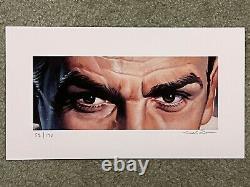 James Bond Sean Connery Print Poster Mondo Eyes Without A Face Jason Edmiston