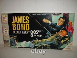 James Bond Secret Agent 007 Board Game MB High Grade Sealed Sean Connery Rare