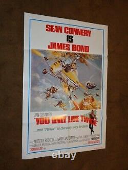 James Bond's You Only Live Twice 1980 US One Sheet Poster (Sean Connery)