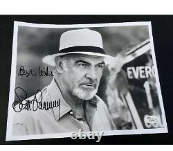Jsa SEAN CONNERY signed 8x10 photo James Bond 007 Auto Rock Indiana Jones Coa