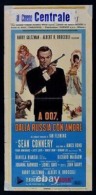 Locandina Agente A 007 Dalla Russia Con Amore James Bond Sean Connery 1963 L30