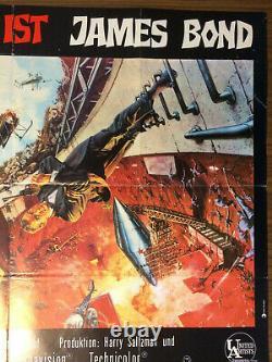 MAN LEBT NUR ZWEIMAL Movie Poster / Filmplakat James Bond Sean Connery 007 EA
