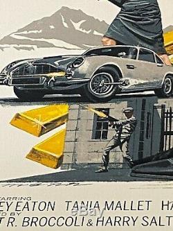 Mondo Artist Paul Mann Goldfinger James Bond Series Sean Connery