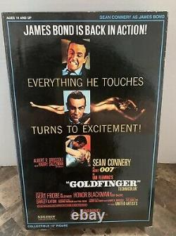 Nos Sideshow Collectibles Goldfinger Sean Connery As James Bond 12 Figure New