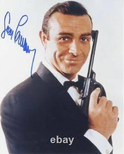 Original SEAN CONNERY James Bond 007 Autogramm signiertes Top Großfoto