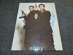 PIERCE BROSNAN & SEAN BEAN signed Autogramm auf JAMES BOND Foto InPerson RAR