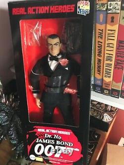 RAH Sean Connery JAMES BOND 007 JAPAN US SELLER MIB Vintage 1/6 Figure Medicom