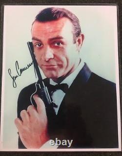 RARE! Sean Connery 007 James Bond 8x10 Signed Autographed Color Photo & 2003 COA