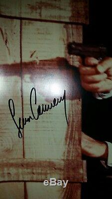 Rare Autographed Picture of Sean Connery as 007 (James Bond)