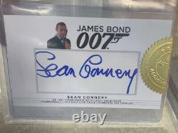 Rittenhouse James Bond 007 Limited Edition Sean Connery Auto Autograph Ssp