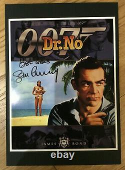 SEAN CONNERY Dr No Original AUTOGRAPH Signed James Bond 007 Incl COA Proof