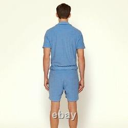 SEAN CONNERY GOLDFINGER Blue Towelling Playsuit Orlebar Brown James Bond 007 NEW