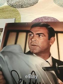 SEAN CONNERY JAMES BOND 007 SIGNED AUTOGRAPHED PHOTO 8x10 JSA LOA RARE AUTHENTIC