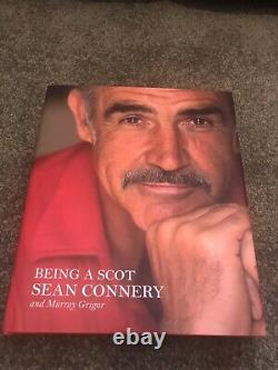 SEAN CONNERY JAMES BOND 007 SIGNED PSA LOA AUTOGRAPHED Life Story Book AUTHENTIC
