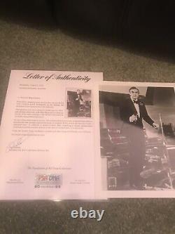 SEAN CONNERY JAMES BOND 007 Signed Autographed PHOTO 8x10 PSA LOA INDIANA JONES