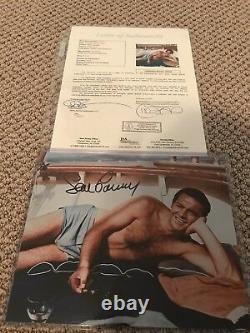SEAN CONNERY JSA LOA Signed Autographed as JAMES BOND 8x10 Photo AUTHENTIC Rare