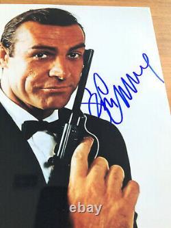 SEAN CONNERY James Bond Autogramm signiertes XXL Foto Top Portrait inkl. Coa
