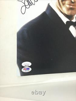 SEAN CONNERY James Bond Signed 11x14 Photo Double Certified JSA & PSA COA w Le