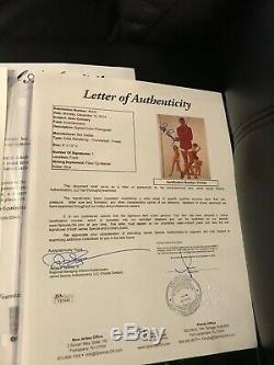 SEAN CONNERY James Bond THUNDERBALL Signed Autographed PHOTO 8x10 JSA LOA RARE