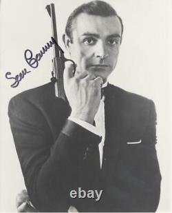 SEAN CONNERY-ORIGINAL AUTOGRAPHED PHOTO-AS James Bond-WithCOA