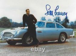 SEAN CONNERY SIGNED 007 JAMES BOND ASTON MARTIN DB5 8x10 PHOTO UACC RD