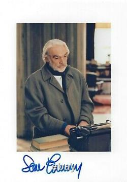 SEAN CONNERY SIGNED 8x10 FINDING FORRESTER PHOTO UACC & AFTAL RD