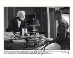 SEAN CONNERY SIGNED 8x10 PHOTO AUTHENTIC AUTOGRAPH JAMES BOND FINDING FORRESTER