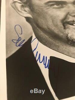 SEAN CONNERY SIGNED AUTOGRAPHED 8x10 PHOTO VINTAGE PSA DNA COA James Bond RARE