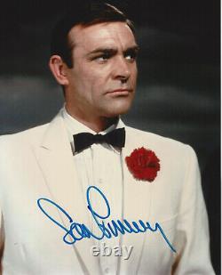 SEAN CONNERY SIGNED'JAMES BOND GOLDFINGER 8x10 MOVIE PHOTO BECKETT COA BAS 007