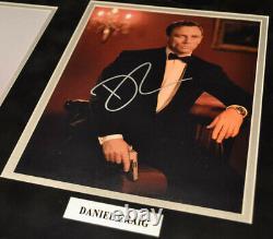 SEAN CONNERY Signed 007 Autograph, CRAIG + all JAMES BOND, COA, Frame, UACC, DVD
